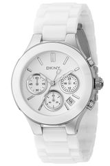 DKNY Large Ceramic Chronograph Bracelet Watch - Lyst