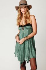 Free People Fp New Romantics Cat Eye Wrap Dress - Lyst
