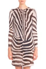 Giambattista Valli Zebra Mini Dress - Lyst