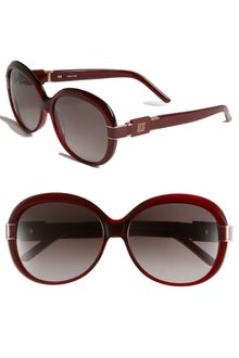 Givenchy Oversized Round Sunglasses - Lyst