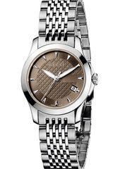 Gucci G Timeless Stainless Steel Bracelet Watch - Lyst