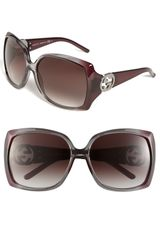Gucci Oversized Sunglasses - Lyst