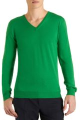 Jil Sander V-neck Sweater - Lyst