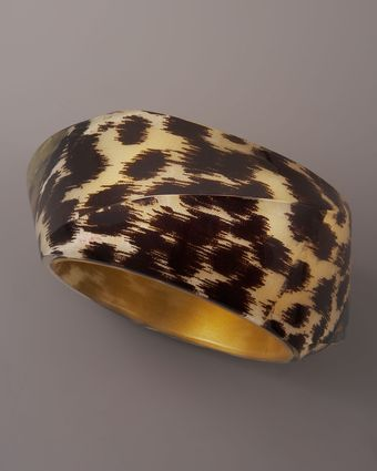 Kate Spade Ikat Bangle, Large - Lyst