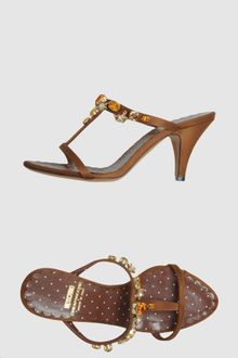 Moschino Cheap & Chic Highheeled Sandals - Lyst