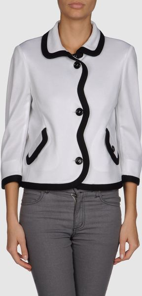 Moschino Cheap & Chic Blazer in White - Lyst