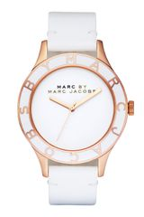 Marc By Marc Jacobs Patent Strap Oversized Watch - Lyst