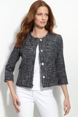 Michael by Michael Kors Tweed Jacket - Lyst