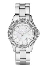 Michael by Michael Kors Small Madison Twin Row Crystal Watch - Lyst