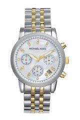 Michael by Michael Kors Mother Of Pearl Chronograph Watch - Lyst