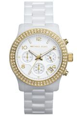 Michael by Michael Kors  Runway Ceramic Watch - Lyst