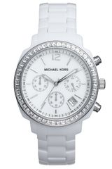 Michael by Michael Kors Michael Kors Ladies Chronograph Resin Bracelet Watch - Lyst