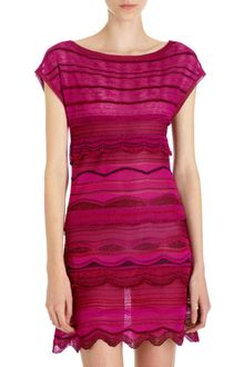 Missoni Ruffle Mini Dress - Lyst