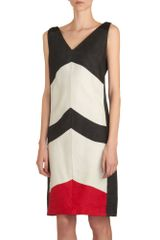 Narciso Rodriguez Colorblock Dress - Lyst