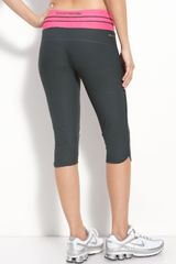 Nike Low Rise Crop Capris - Lyst