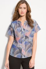 Nordstrom Collection Francoise Silk Blouse - Lyst