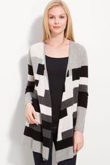 Only Mine Long Patterned Cardigan - Lyst