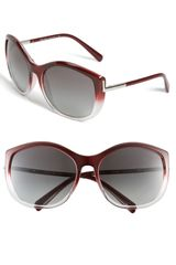 Prada C-cat Cats Eye Sunglasses - Lyst