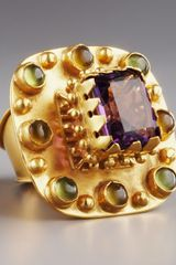 Stephanie Anne Multi-stone Betrothal Ring - Lyst