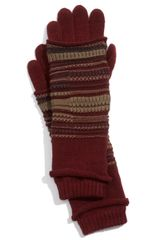 Tarnish Folk Knit Gloves - Lyst