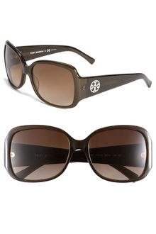 Tory Burch Oversized Square Sunglasses - Lyst