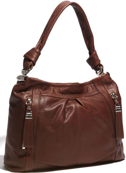 B. Makowsky Sunny Hobo in Brown (brandy) - Lyst