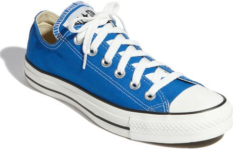 Converse Chuck Taylor® Low Sneaker in Blue (strong blue) - Lyst