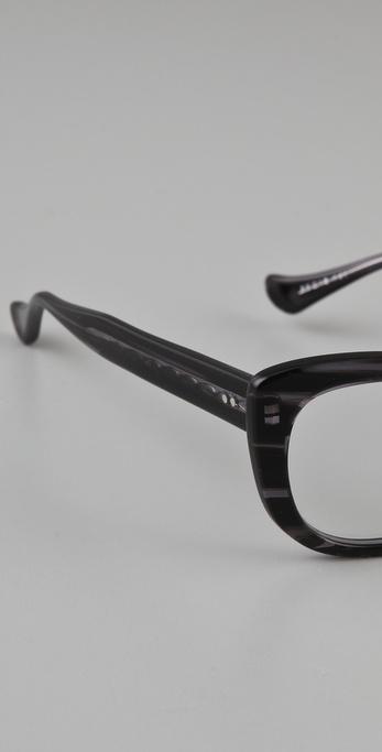 61733661201 Lyst - DITA Vamp Glasses in Black