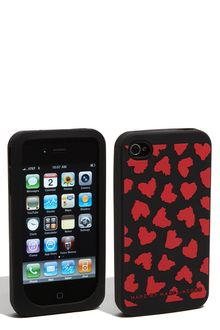 Marc By Marc Jacobs Wild Hearts Iphone 4 & 4s Cover - Lyst