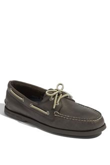 Sperry Top-sider Burnished Grey Boat Shoe - Lyst