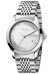 Gucci G Timeless Diamond Bracelet Watch - Lyst