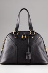 Saint Laurent Muse Dome Tote, Large - Lyst