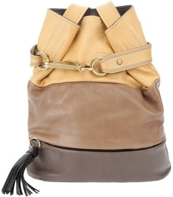 Chloé Paneled Bucket Bag - Lyst