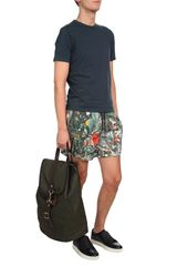 Christopher Kane Systems Print Swim Shorts in Multicolor for Men (multi) - Lyst