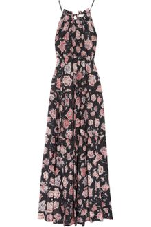 Etoile Isabel Marant Jill Floral-print Cotton-blend Maxi Dress - Lyst