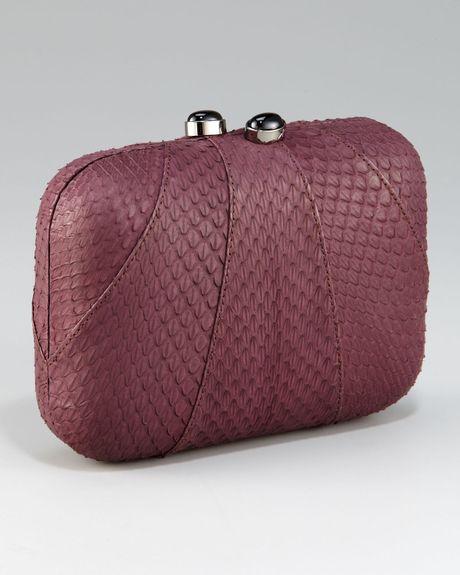 Lyst - KOTUR Sequin Minaudiere Bag in Metallic
