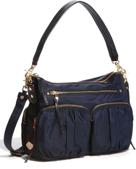 Wallace Hayley Nylon Handbag in Blue (navy bedford)