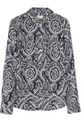 Michael by Michael Kors Paisley-print Cotton Shirt - Lyst