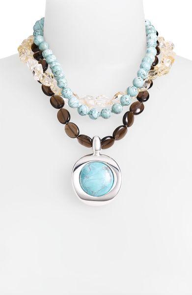 simon sebbag sante fe strand pendant necklace in