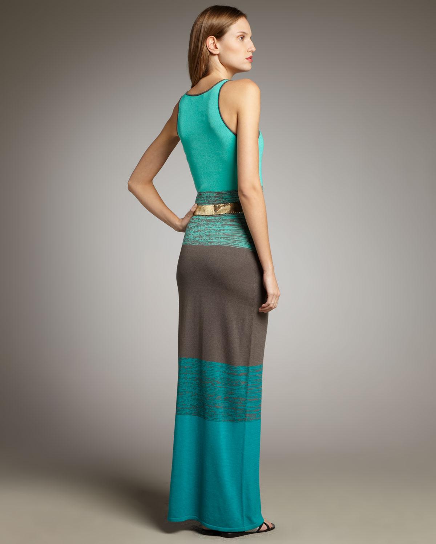 fe66acf0b2617 Trina Turk Bahama Mama Maxi Dress in Blue - Lyst
