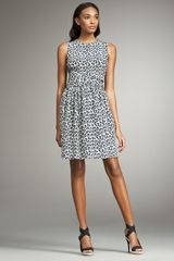 3.1 Phillip Lim Leopard-print Silk Dress - Lyst
