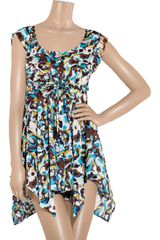 Diane Von Furstenberg Marnia Printed Cotton Dress - Lyst
