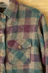 Free People Vintage Wool Shirt Jacket in Multicolor (multi) - Lyst