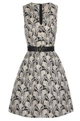 Jason Wu Floral Printed Silk Dress - Lyst