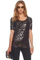 Michael by Michael Kors Python-sequin Top - Lyst