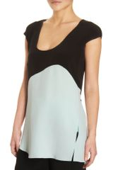 Narciso Rodriguez Curved Panel Top - Lyst