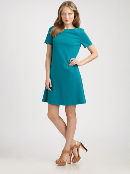 La Via 18 Aline Dress in Blue (turquoise) - Lyst