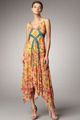 Jean Paul Gaultier Floral-print Dress - Lyst