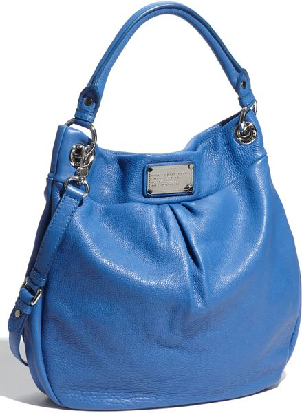 Marc By Marc Jacobs Classic Q  Hillier Hobo in Blue - Lyst