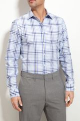 Michael Kors Greenfield Check Ceo Sport Shirt - Lyst